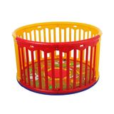 Dream On Me Circuliar Playard, Red/Yellow